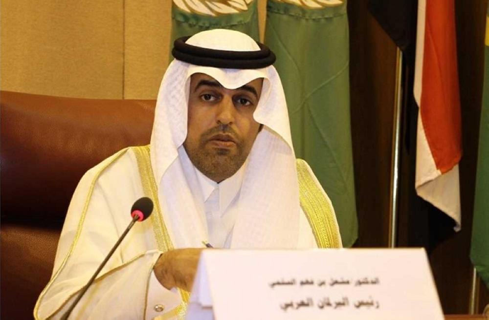 رئيس البرلمان العربي : استهداف ميليشيا الحوثي لمطار أبها جريمة حرب