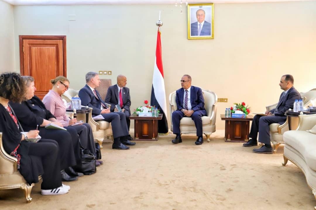 الميسري يؤكد أهمية تعزيز مجالات التعاون الأمني المشترك بين اليمن وواشنطن