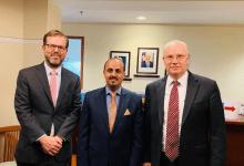 الإرياني يطالب الإدارة الأمريكية بتصنيف ميليشيا الحوثي كجماعة إرهابية