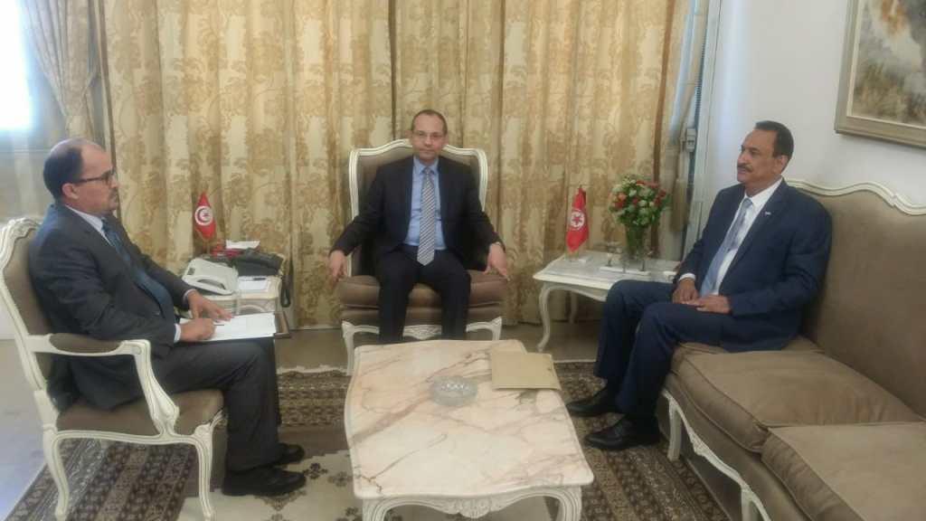 وزير الداخلية التونسي يبدي الاستعداد لتأهيل كوادر وزارة الداخلية اليمنية