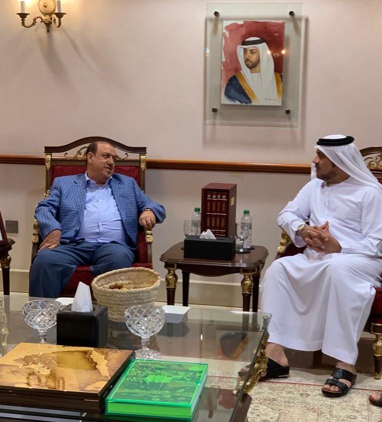 رئيس مجلس النواب يزور الارشيف الوطني الاماراتي في ابوظبي