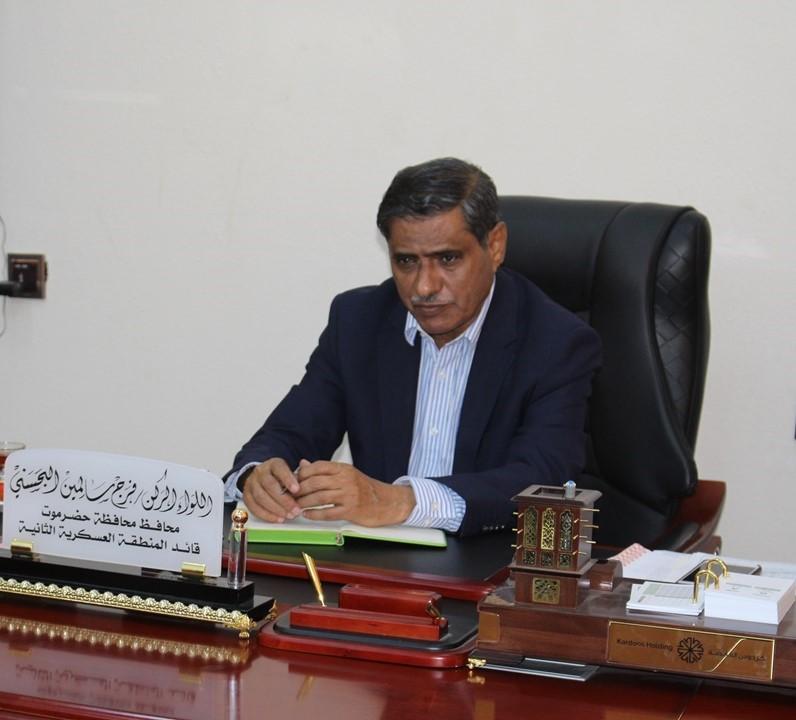 محافظ حضرموت يعلن عن خطة عمل خلال النصف الثاني من العام الحالي 2019م بالمحافظة
