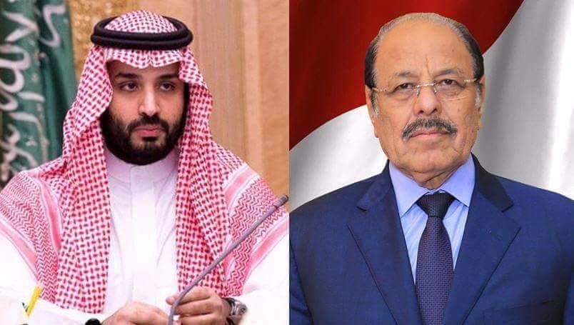 نائب الرئيس يهنئ ولي العهد السعودي بمناسبة ذكرى اليوم الوطني الـ 89 للمملكة