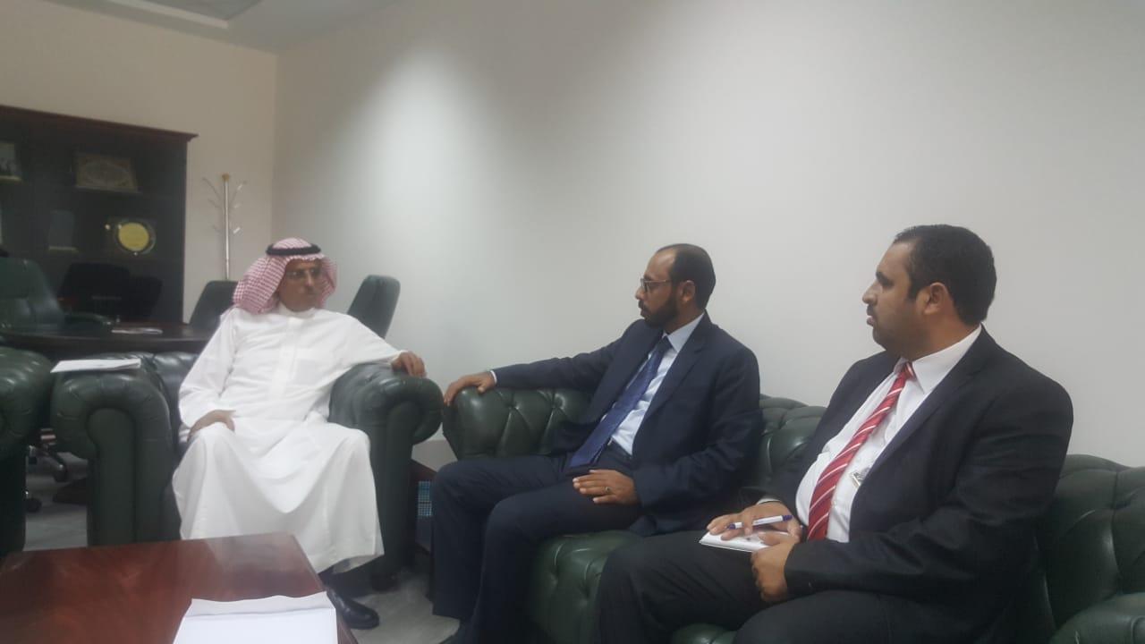 وزير الثروة السمكية يبحث مع مركز الملك سلمان للإغاثة دعم وتأهيل القطاع السمكي في اليمن
