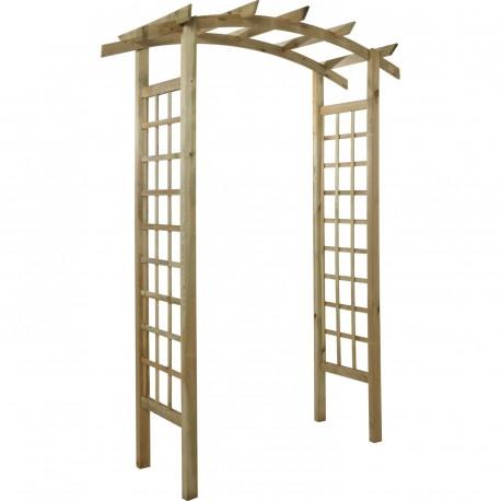 arche de jardin en bois sabannes reception