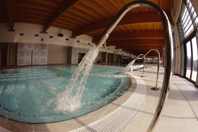 La nuova piscina Ortignola Sabato Sera