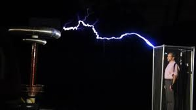 Gaiola de Faraday - Blindagem eletrostática