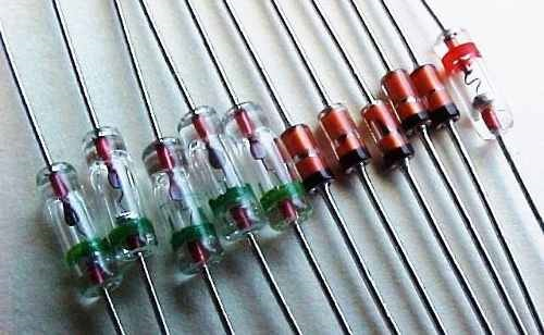 Quado usar os diodo germânio