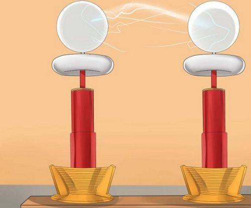 Funcionamento da bobina de tesla