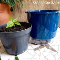 Vasos Autoirrigaveis - Pequeno