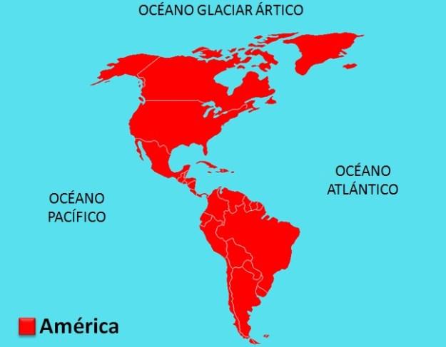 Límites de América (mapa)