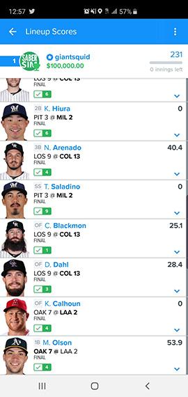 giantsquid ($100k MLB, '19)