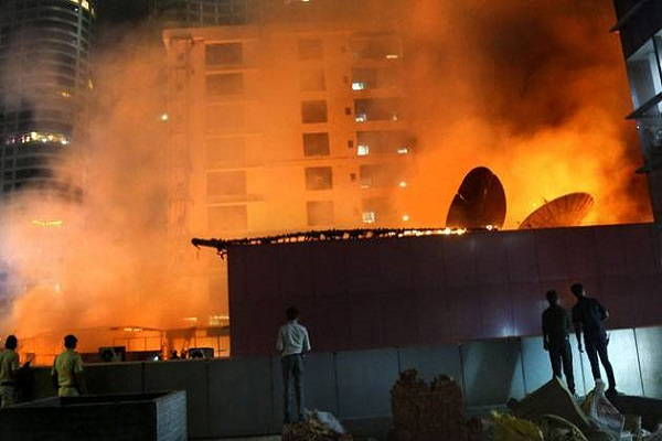 Bawana fire accident: police arrest godown owner
