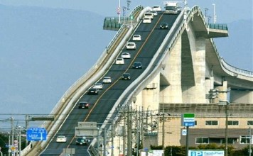 This is the world's third largest bridge, which will see your head roaming