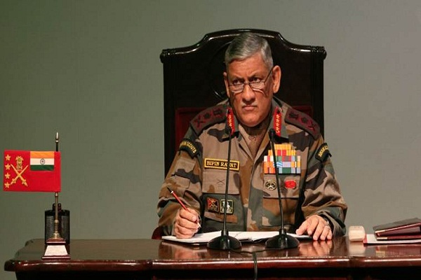 India's army chief's statement is harmful to peace: China India's army chief's statement is harmful to peace: China