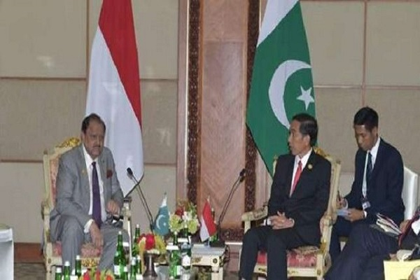 Pakistan, Indonesia will work for peace in Afghanistan