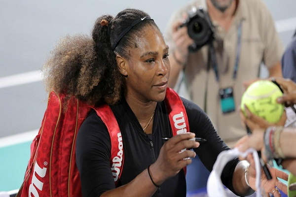 Serena withdrew from Australia Open