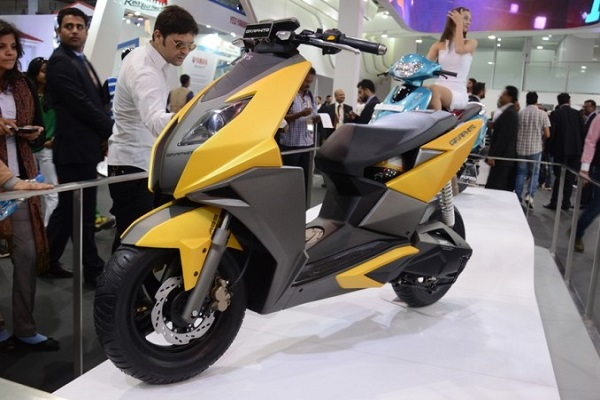 TVS to launch new scooter auto expo