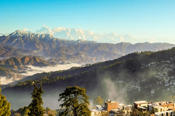 Take delight in the delightful views of Ranikhet in the winter season