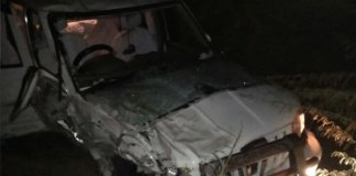 Barmer district collector and SP injured in road accident
