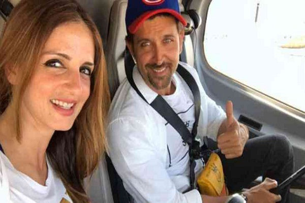 Happy Birthday: X Wife Sujain did something like this in Hrithik Roshan