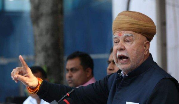 Do not allow 'Padmavat' to be released : lokendra singh kalvi