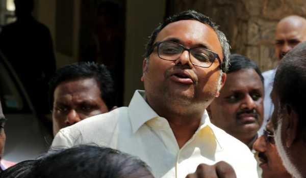 INX Media Case: Karti Chidambaram sent to 1 day police custody