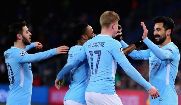 Champions League : Manchester City beat Basel by 4-0