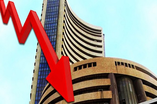 Sensex down 561 points in early trade