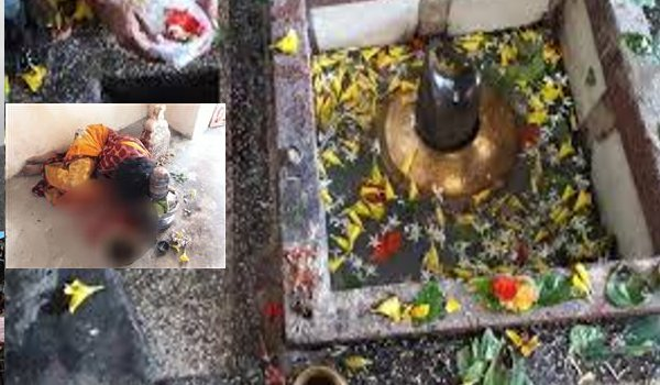 Married woman sacrifices tongue to Lord Shiva in Chhattisgarh temple