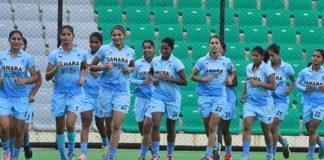 रवाना हुई भारतीय महिला हॉकी टीम