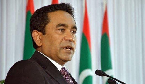 Maldives President Abdulla Yameen Abdul Gayoom