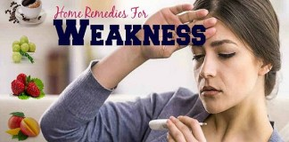 These home remedies take away physical weakness