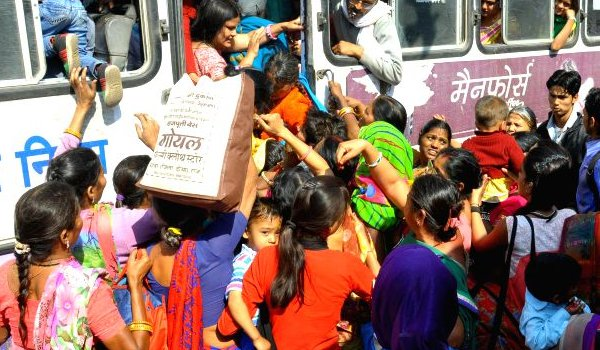 Free bus travel for women in rajasthan on women's day