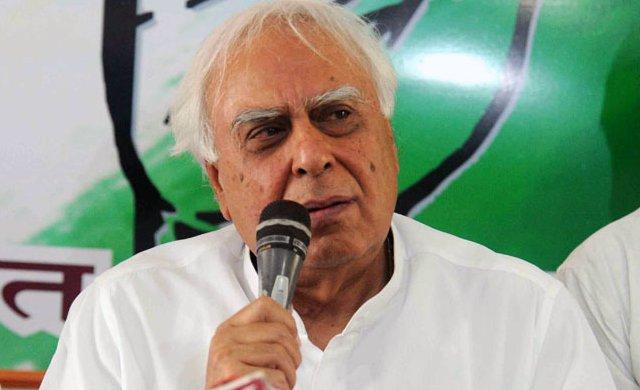 Kapil Sibal hits back at Smriti Irani over BJP's 'land scam' allegations