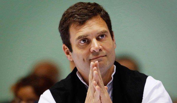 Rahul Gandhi attacks PM over data sharing;  BJP hits back