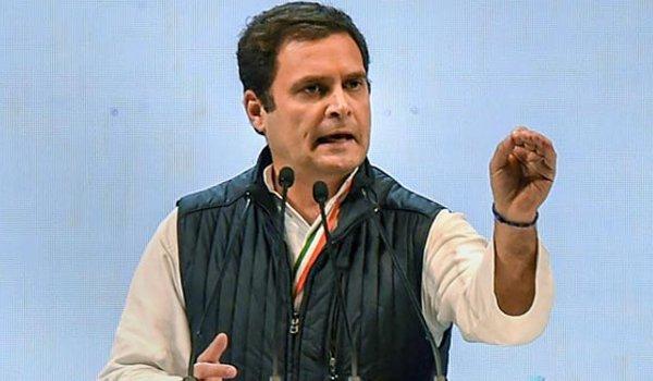 BJP and RSS are like Kauravas; Congress are like Pandavas: Rahul Gandhi