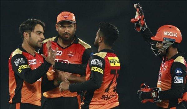 IPL 2018: Sunrisers Hyderabad beat Kings XI Punjab by 13 runs