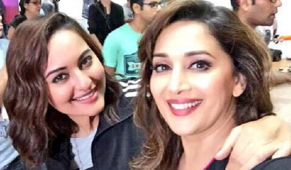 Sonakshi Sinha excited to work with Madhuri Dixit