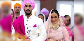 Neha Dhupia ties the knot with best friend angad Bedi