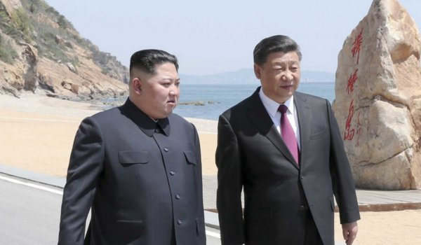 North Korean leader Kim Jong holds second meeting with Xi Jinping
