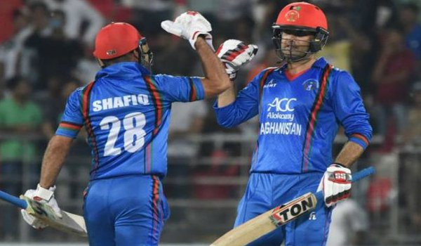 Afghanistan Beat Bangladesh by six wickets, clinch series