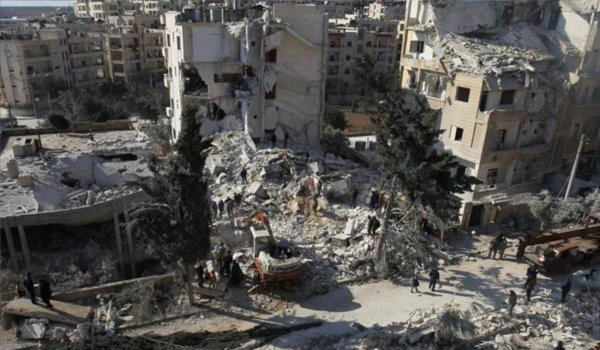 38 Killed By Air Strikes In Syria's Idlib Says Human Rights Monitor