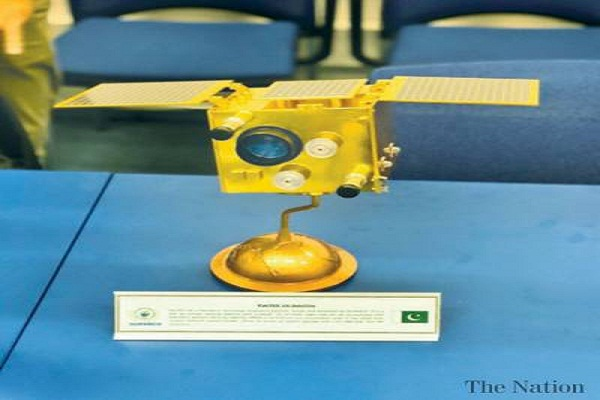 Pakistan will launch the first indigenously built satellite