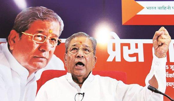 Rebel Rajasthan BJP leader Ghanshyam Tiwari