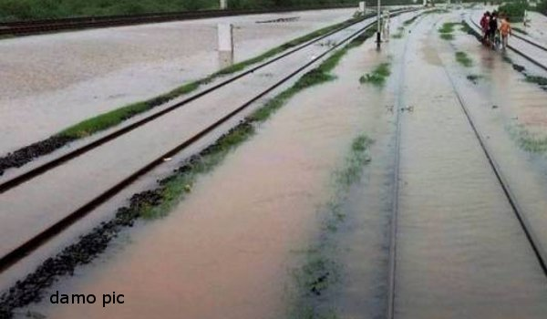 NDRF rescues 95 passengers of train trapped in flood waters in Gujarat