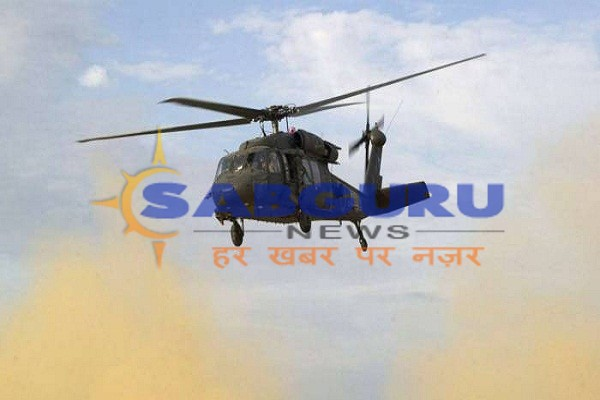 Army tents collided with helicopter, 22 people injured