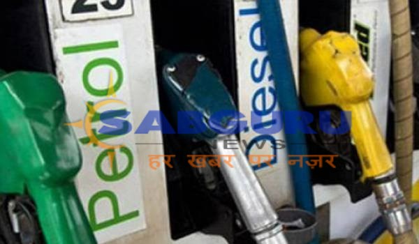 Petrol price cut by 10 paise per liter, diesel by 11 paise