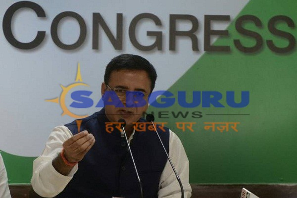 Rafael agreement, there was a company that did not exist: Randeep Singh Surjewala