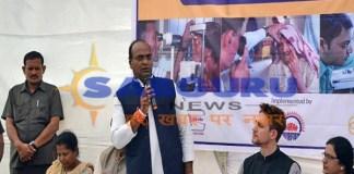 Get full facilities like hospitals in health camps: Vishwas Sarang